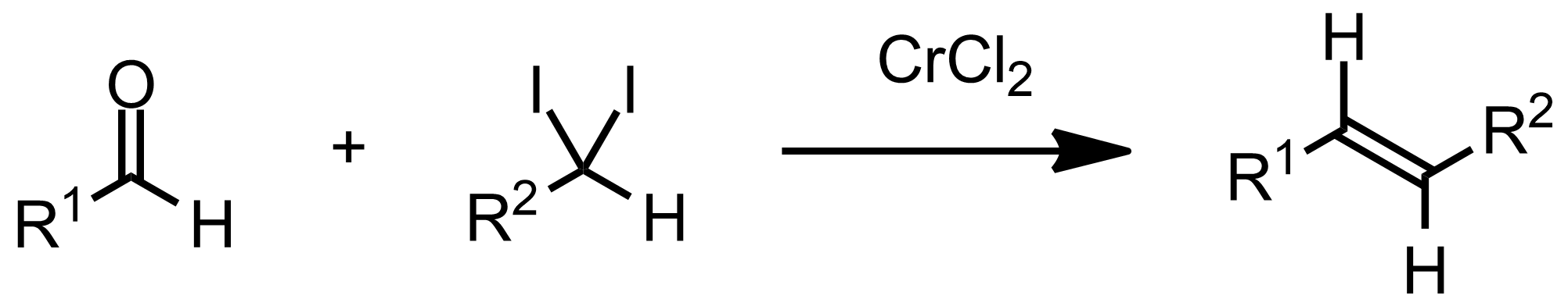 Schematic representation of the Takai Reaction.