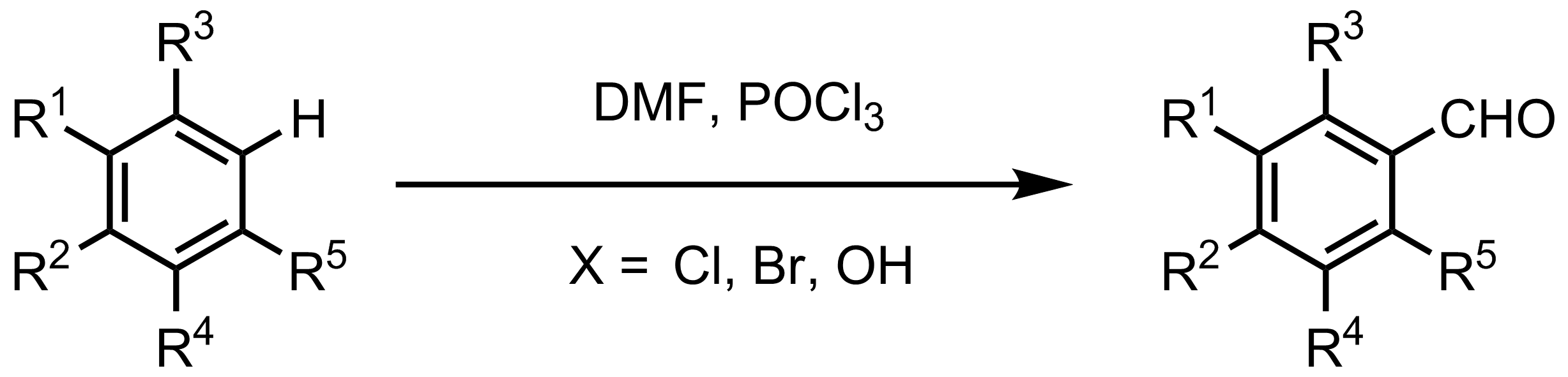 Schematic representation of the Vilsmeier-Haack Formylation.