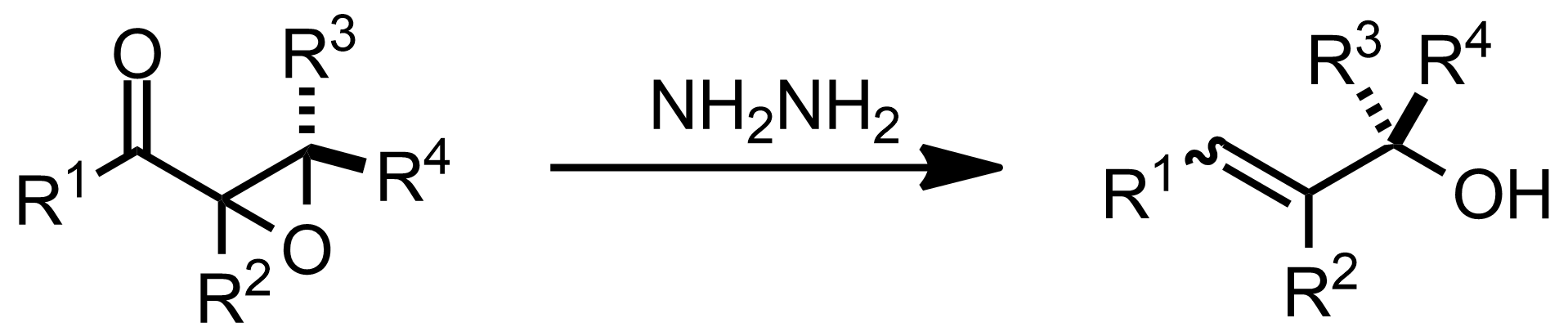 Schematic representation of the Wharton Reaction.