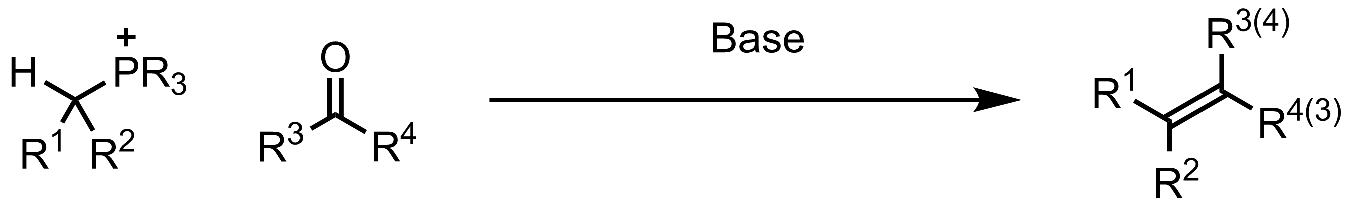 Schematic representation of the Wittig Reaction.
