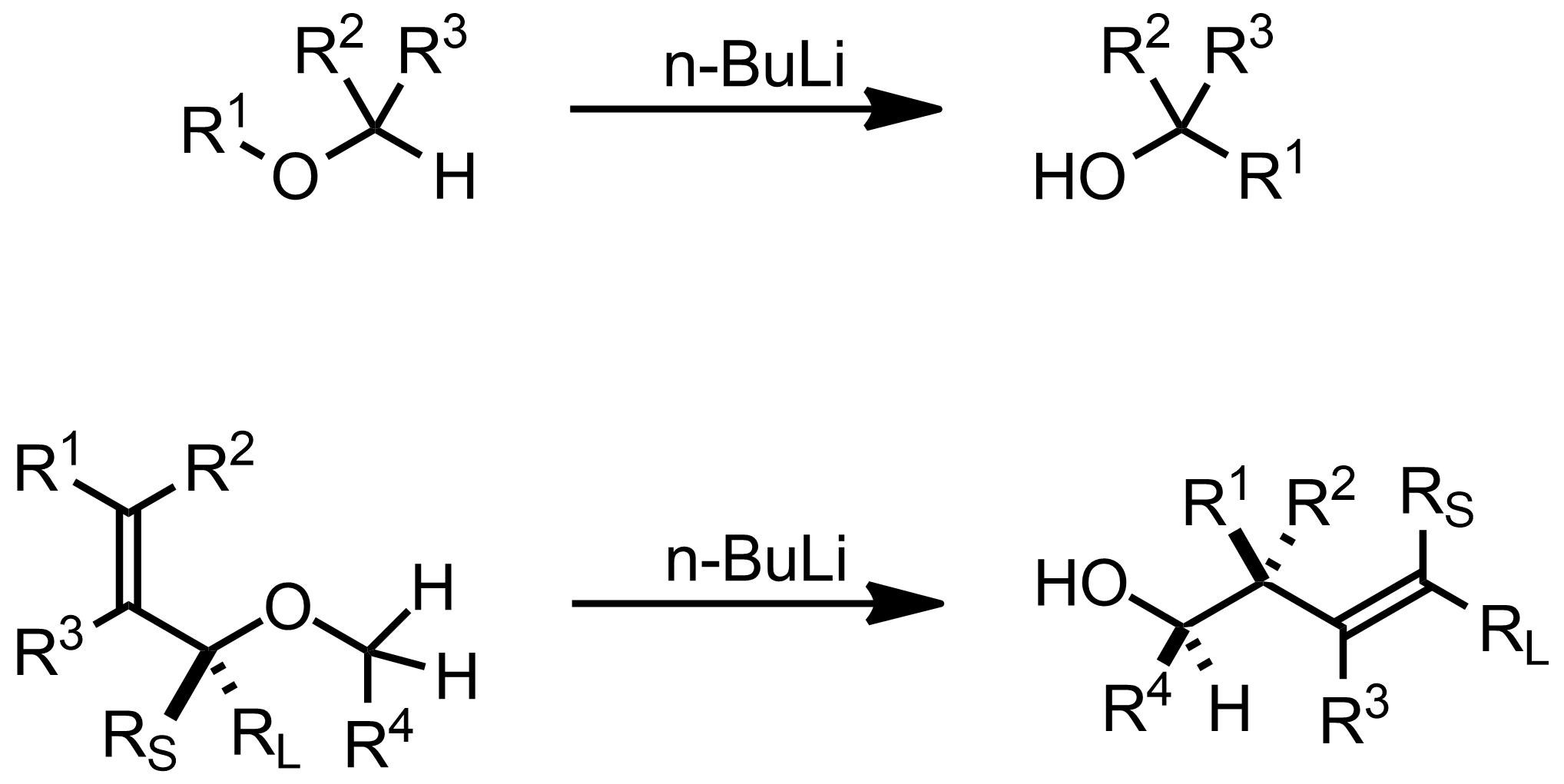 Schematic representation of the Wittig Rearrangement-[2,3].