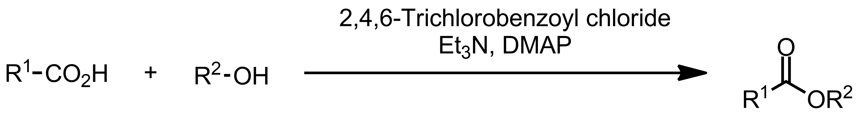 Schematic representation of the Yamaguchi Esterification.