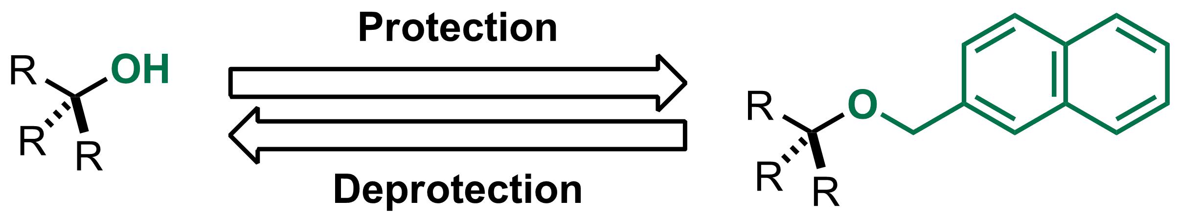 2-Naphthylmethyl ether (Nap) scheme